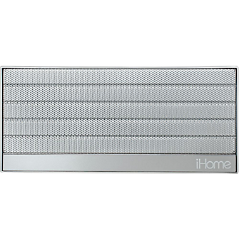iHome iBN27 Portable Bluetooth Stereo Speaker - Silver