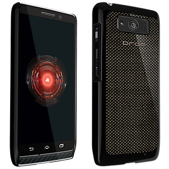 VZW Hard Shell Case Droid Mini- Carbon Fiber Black
