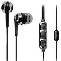 Scosche Premium Increased Dynamic Range Earphones with tapLINE Remote & Mic