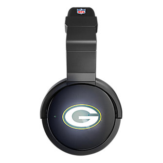 iHip NFL Light Up Headphones - Green Bay Packers