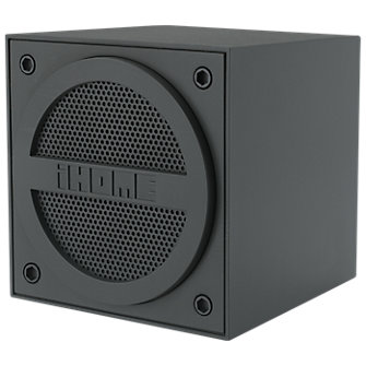 iHome iBN16 Bluetooth Block speaker - Gray