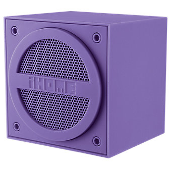 iHome iBN16 Bluetooth Block speaker - Purple