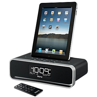 iHome - iPad & iPhone 4/4s - Music &  Clock Radio