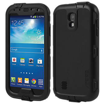 Incipio Atlas™ Waterproof Case for Galaxy S® 4 - Black/Black