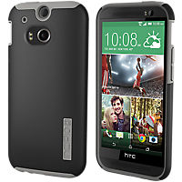 Incipio DualPro for the all new HTC One (M8) - Black with Gray