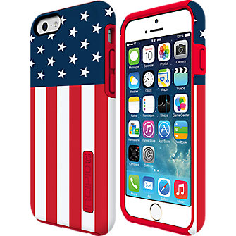 Incipio DualPro Prints for iPhone 6 - American Flag