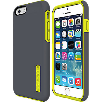 Incipio DualPro for iPhone 6 - Gray-Yellow