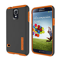 Incipio Dual Pro for Galaxy S 5 - Gray with Orange