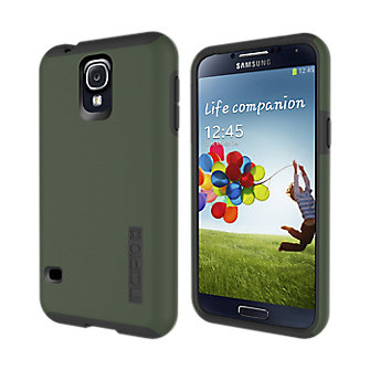 Incipio Dual Pro for Galaxy S 5 - Olive with Gray
