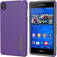 Incipio DualPro for Sony Xperia Z3v  - Purple/Gray