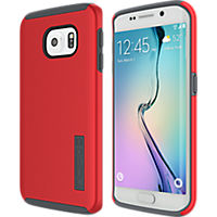 Incipio DualPro for Samsung Galaxy S 6 Edge - Red-Charcoal