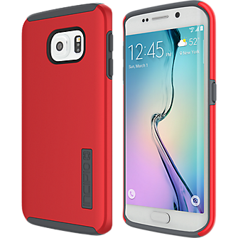 DualPro for Samsung Galaxy S 6 Edge - Red-Charcoal