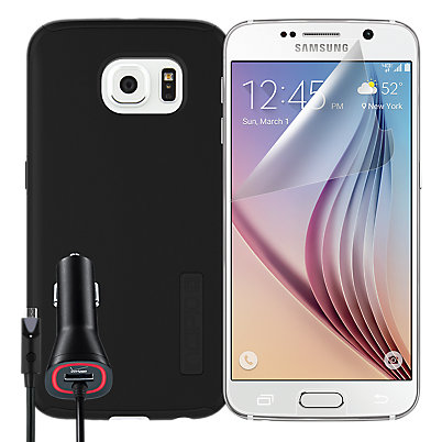 DualPro Protection Bundle for Samsung Galaxy S 6 - Black