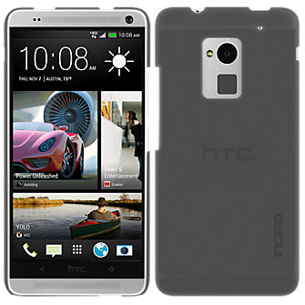 Incipio Feather Shell for HTC One Max - Translucent Gray