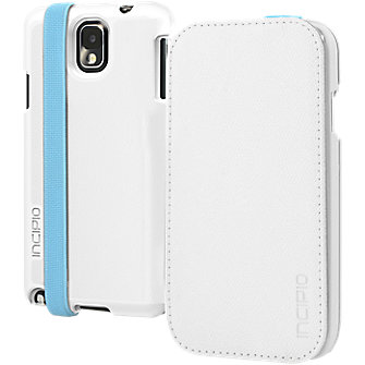 Incipio Watson Folio for Samsung Galaxy Note 3 – Teal with White