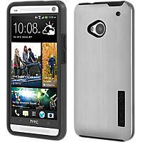 Incipio Dual Pro Shine for HTC One - Silver