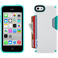 Speck CandyShell Card for iPhone 5c - White/Teal