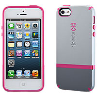 Speck CandyShell Flip for iPhone 5/5s - Gray/Pink
