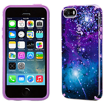 Speck CandyShell Inked for iPhone 5/5s - Purple Galaxy