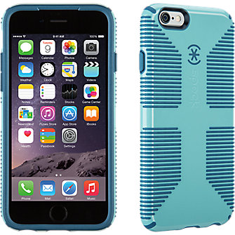 Speck CandyShell Grip for iPhone 6 - River Blue/Tahoe Blue