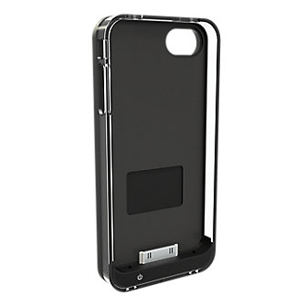 iCaisse4x Mobile Wallet Case with Extended Battery for iPhone 4/4s