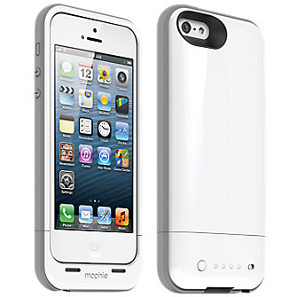 mophie juice pack plus for iPhone 5/5s - White