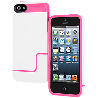 Incipio Hard Cover - White/Pink