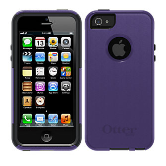 OtterBox Commuter Series for Apple iPhone 5 - Purple