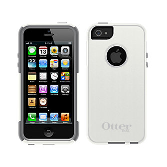 OtterBox Commuter Series for Apple iPhone 5 - White