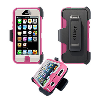 OtterBox® Defender Series® for Apple® iPhone® 5 - Pink