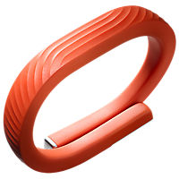 Jawbone Up24 Persimmon Medium