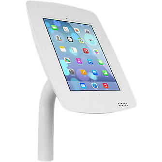 The Joy Factory Elevate Aloft Mounted Countertop Kiosk for iPad Air/4/3/2 - Fixed Base
