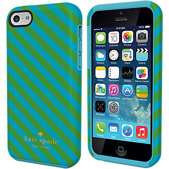 kate spade new york Dual Layer Case for iPhone 5c - Diagonal Stripe