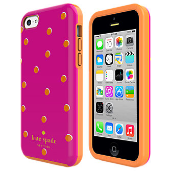 kate spade new york Flexible Hardshell Case for iPhone 5c - Scatter Pavilion