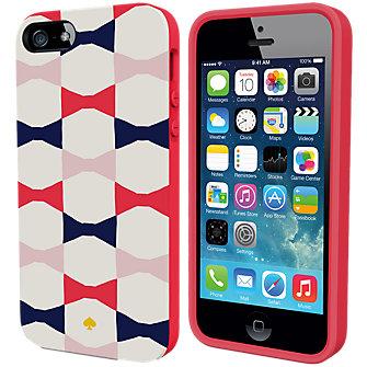 kate spade new york Flexible Hardshell Case for iPhone 5/5s - Deborah Bow
