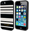 kate spade new york Flexible Hardshell Case for iPhone 5/5s - Fairmont Stripe