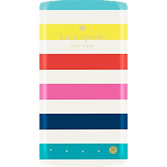 4000mAh Portable Backup Battery - Candy stripe