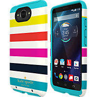 kate spade new york Dual Layer Case for Droid Turbo - Candy Stripe