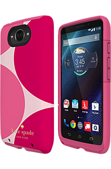 kate spade new york Dual Layer Case for Droid Turbo  - Oversized dots
