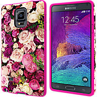 kate spade new york Flexible Hardshell Case for Samsung GALAXY Note 4 - Photographic Roses