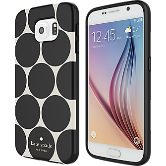 Flexible Hardshell Case for Samsung Galaxy S 6 - Larabee Dot