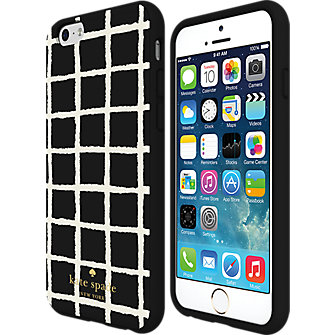 kate spade new york Flexible Hardshell Case for iPhone 6 - Painterly Check