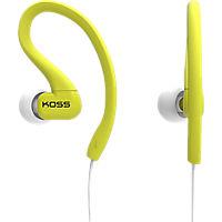 Koss FitClips Ear Clip Sports Headphones - Lime