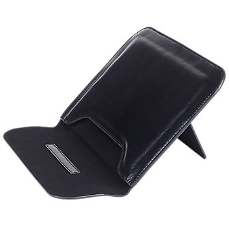 Leather Pouch with Kickstand for 7
