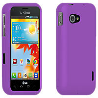 Fitted Snap Cover for LG Enact - Purple