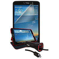 Essential Travel Bundle for LG G Pad 8.3 LTE - Red