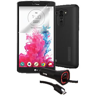 Essential Travel Bundle for LG G Vista - Black
