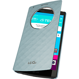 Quick Circle Folio Case for LG G4 - Aqua