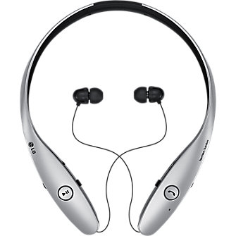 LG Tone Infinim Bluetooth Stereo Headset - Silver