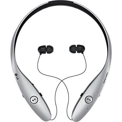 LG Tone Infinim Bluetooth Stereo Headset - Silver